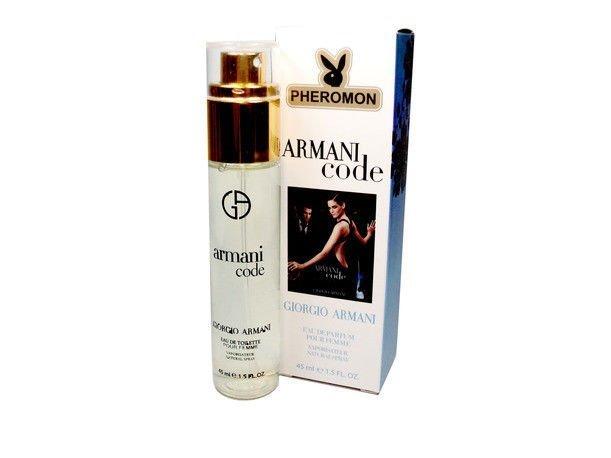 Мини-парфюм с феромонами Giorgio Armani Code Pour Femme 45 ml