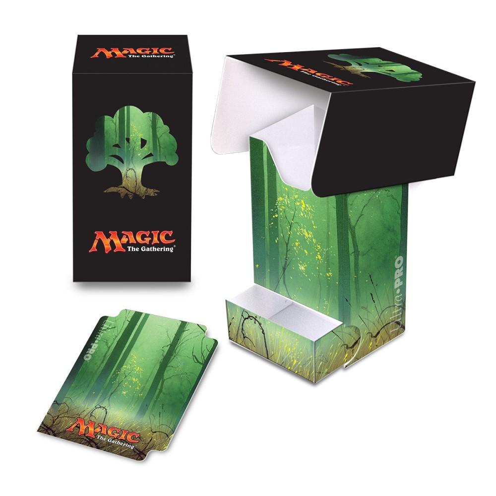 Пластиковая коробочка Ultra-Pro «Mana 5 Forest Full View»