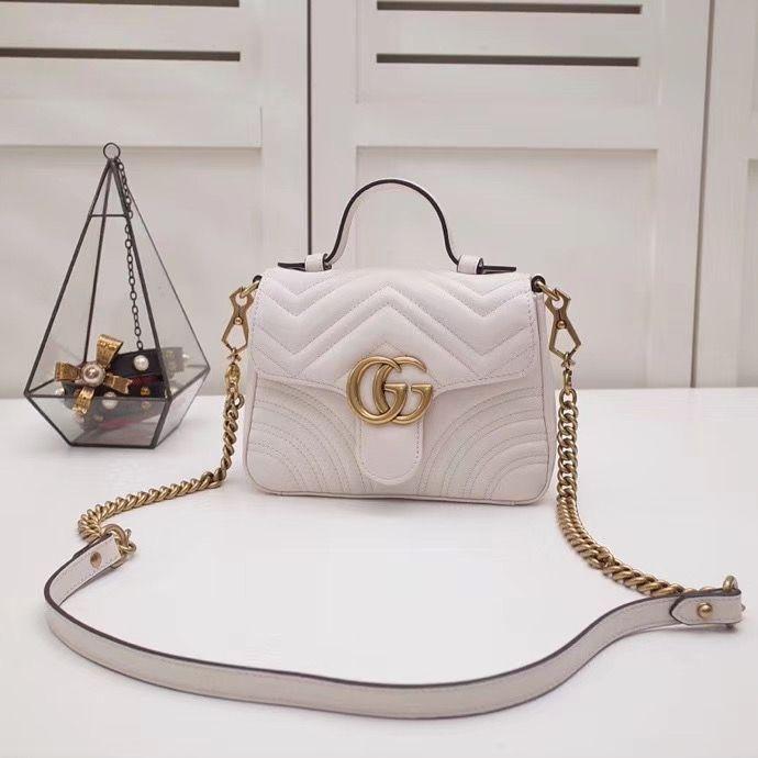 Gucci Marmont GG 20 cm
