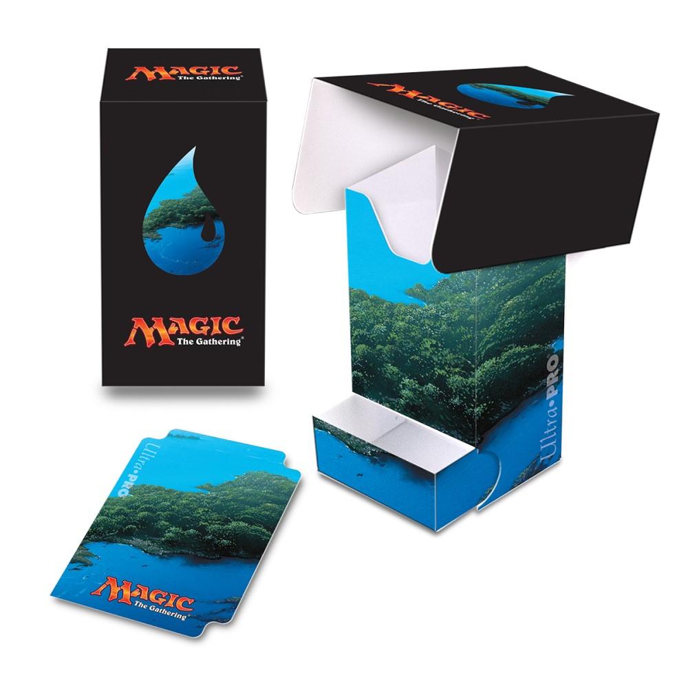 Пластиковая коробочка Ultra-Pro «Mana 5 Island Full View»
