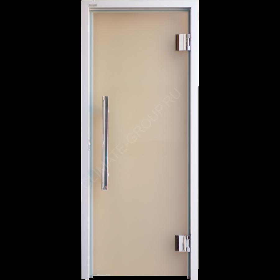 Дверь стеклянная Grandis GS 7?19 Anodize Silver Matelux