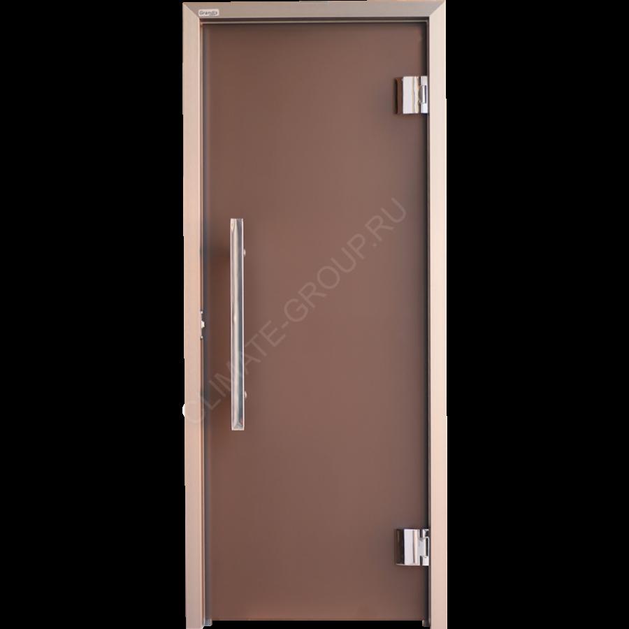 Дверь стеклянная Grandis GS 7?19 Anodize Branch Bronze