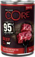 CORE 95 консервы из говядины с брокколи для взрослых собак 400 г