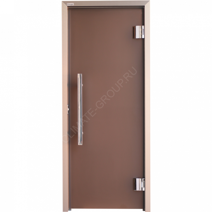 Дверь стеклянная Grandis GS 7*19 Anodize Branch Bronze