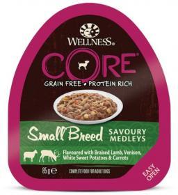 CORE SMALL BREED консервы из баранины с олениной, белым сладким картофелем и морковью для собак мелких пород 85 г