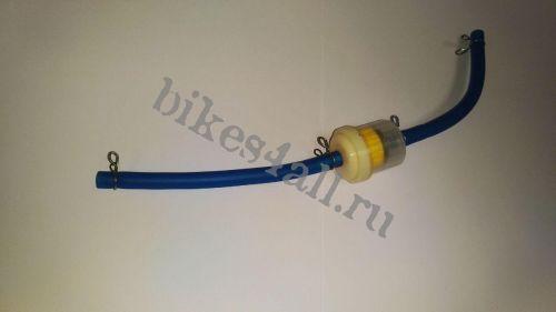 Фильтр топливный универсальный со шлангом