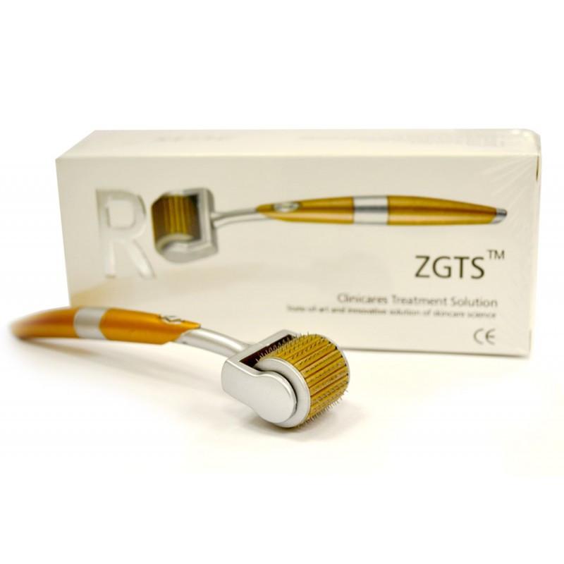 Мезороллер с позолоченными иглами ZGTS