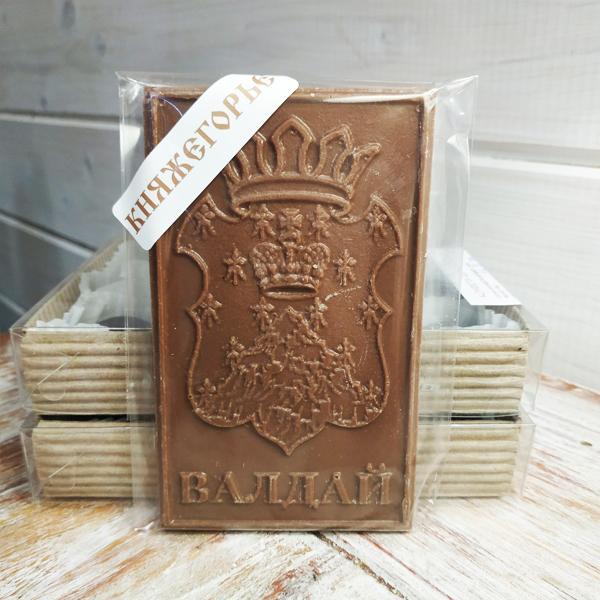 """Шоколад молочный """"Валдай.Герб1"""""""
