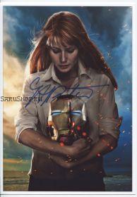 Автограф: Гвинет Пэлтроу. Железный человек
