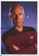 Автограф: Патрик Стюарт. Звездный путь: Следующее поколение