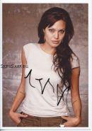Автограф: Анджелина Джоли