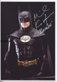 Автограф: Майкл Китон. Бэтмен