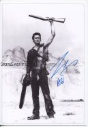Автограф: Брюс Кэмпбелл. Зловещие мертвецы 3: Армия тьмы