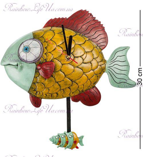 """Часы Рыбка """"W.Stratford"""""""