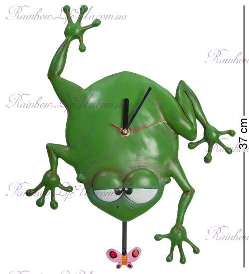"""Часы жабка Квакша """"W.Stratford"""""""