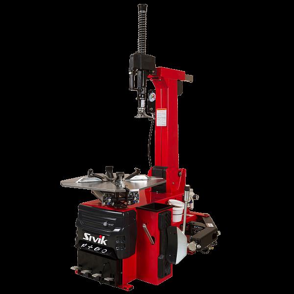*Станок шиномонтажный автомат с устройством для быстрой накачки шин SIVIK КС-404А Про