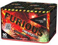 "Батарея салютов ""FURIOUS"" 90 залпов"