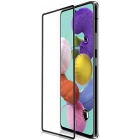 Защитное стекло на Samsung  A51 c рамкой