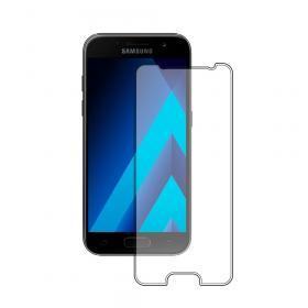 Защитное стекло на Samsung А3 (2017) простое