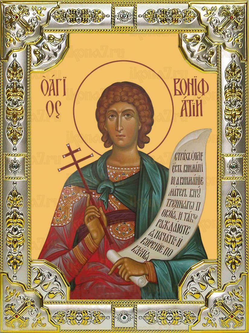 Икона Вонифатий мученик (18х24)