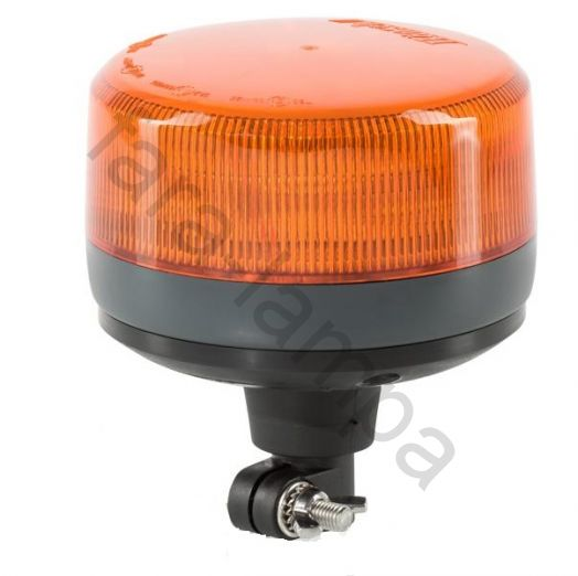 Светодиодный Проблесковый Маяк (оранжевый) высота 186 мм на DIN кронштейне
