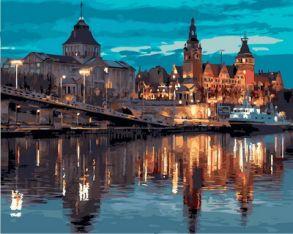 Картина по номерам «Европейский город» 40x50 см