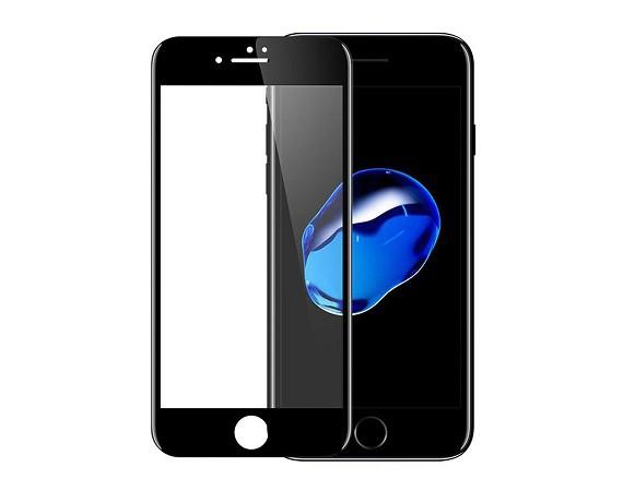 Защитное стекло на iPhone 7/8 с рамкой