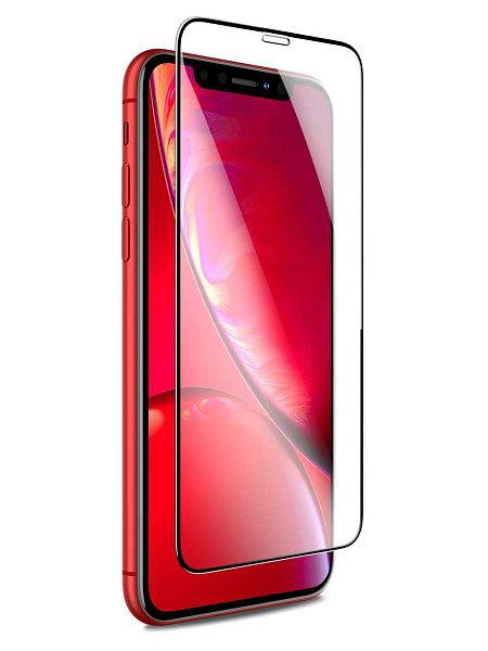 Защитное стекло на iPhone Xr/11 с рамкой