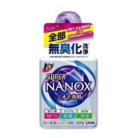 """Lion Гель для стирки """"Top Super Nanox"""" концентрат для контроля за неприятными запахами, 400 г"""