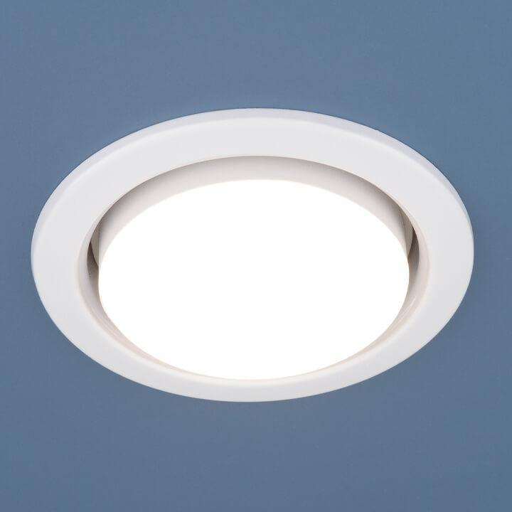 Встраиваемый светильник Elektrostandard 1035 GX53 WH (в комплекте 10 шт.) 4690389133756