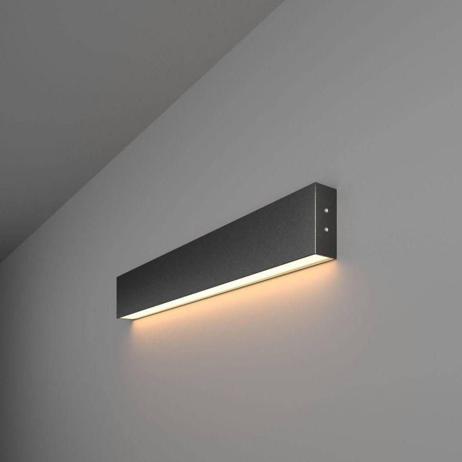 Настенный светодиодный светильник Elektrostandard LSG-02-1-8x53-3000-MSh 4690389133442