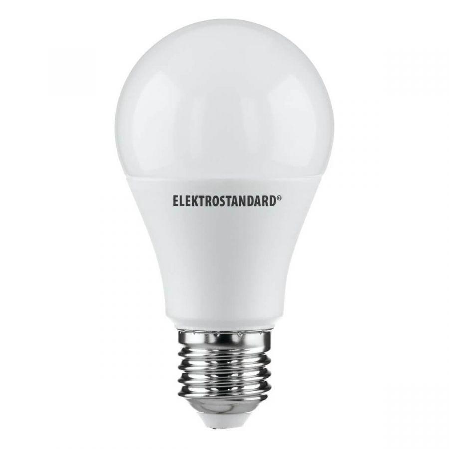 Лампа светодиодная Elektrostandard E27 15W 6500K матовая 4690389085833