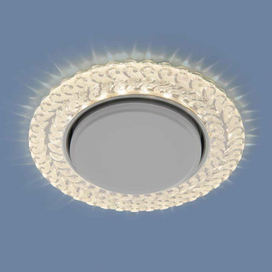 Встраиваемый светильник Elektrostandard 3027 GX53 CL прозрачный 4690389134012