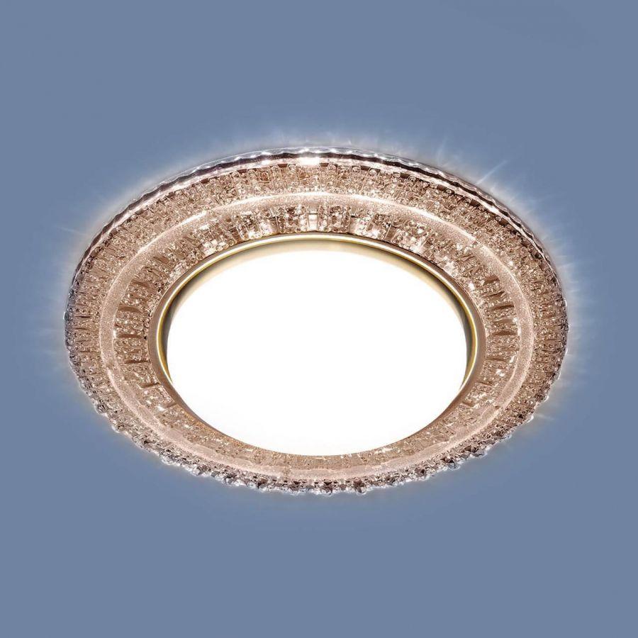 Встраиваемый светильник Elektrostandard 3028 GX53 CF кофе 4690389134067