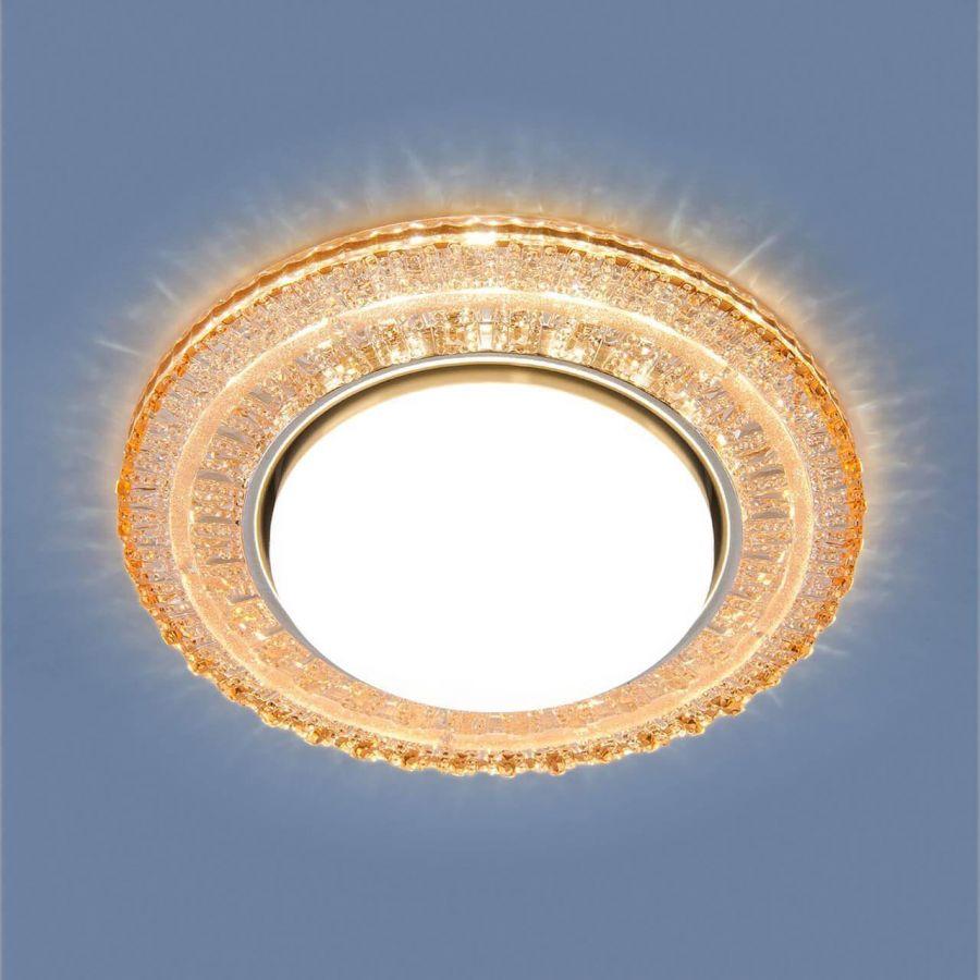 Встраиваемый светильник Elektrostandard 3028 GX53 GC тонированный 4690389134043