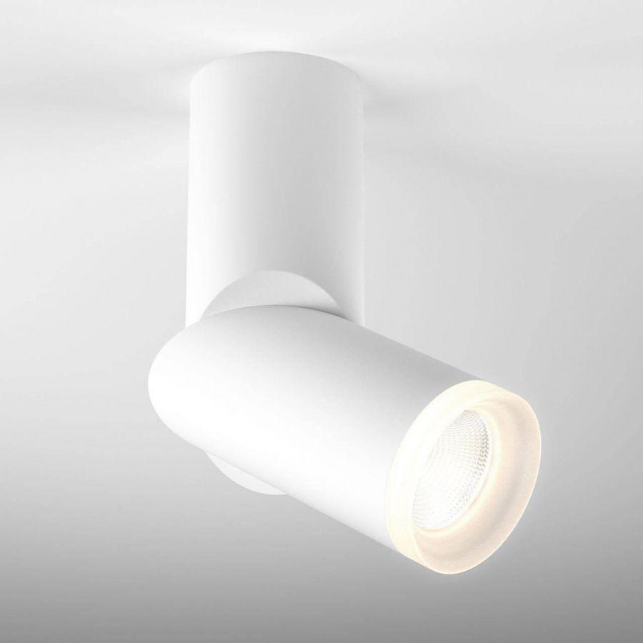 Светодиодный спот Elektrostandard DLR036 12W 4200K белый матовый 4690389135828