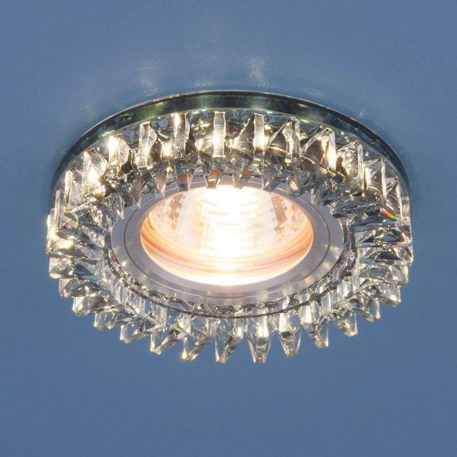 Встраиваемый светильник Elektrostandard 2216 MR16 SBK дымчатый 4690389126161
