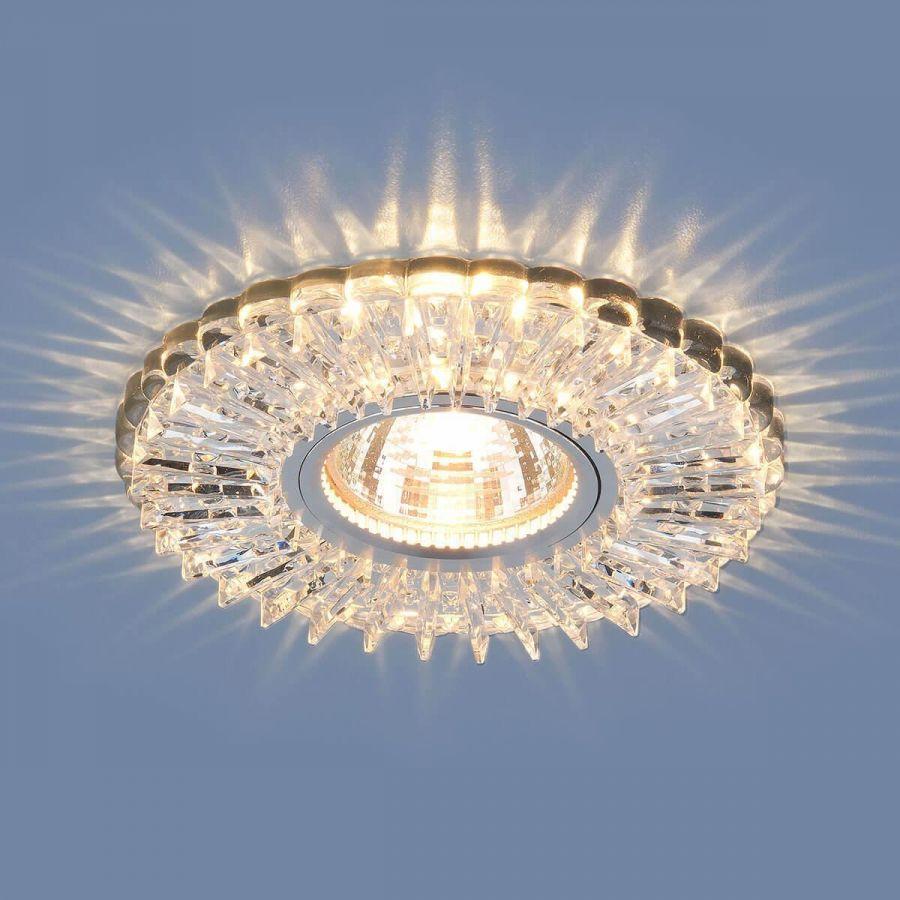 Встраиваемый светильник Elektrostandard 2204 MR16 CL прозрачный 4690389106132