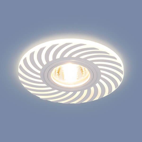 Встраиваемый светильник Elektrostandard 2215 MR16 WH белый 4690389123566