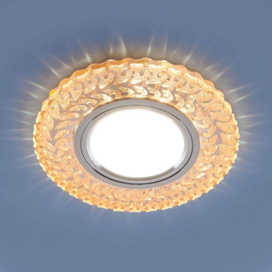 Встраиваемый светильник Elektrostandard 2223 MR16 GC тонированный 4690389133978