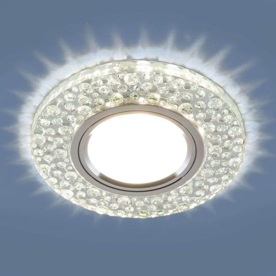 Встраиваемый светильник Elektrostandard 2224 MR16 CL прозрачный 4690389133985