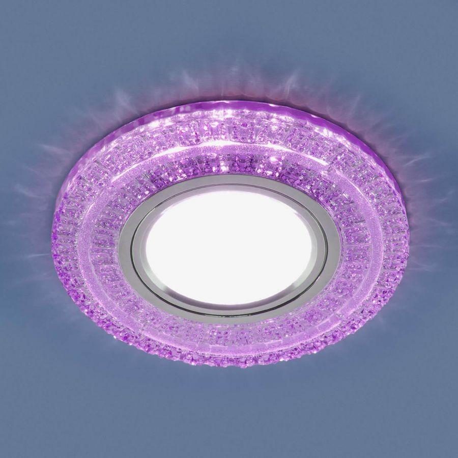 Встраиваемый светильник Elektrostandard 2225 MR16 PU фиолетовый 4690389134289