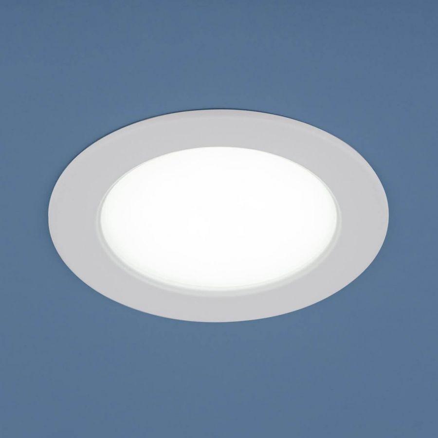 Встраиваемый светодиодный светильник Elektrostandard 9911 LED 6W WH белый 4690389134081