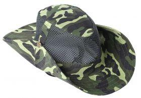 Шляпа камуфляжная с перфорацией охотничья