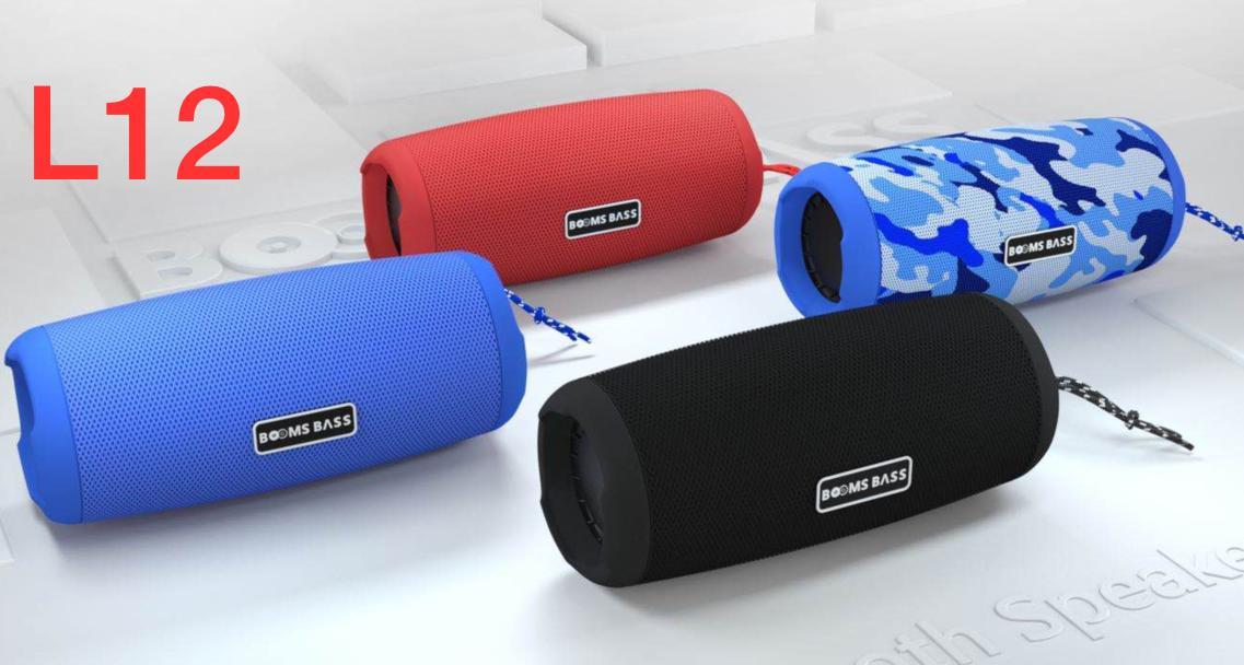 Портативная Bluetooth-колонка Booms Bass L12