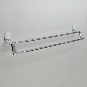 Держатель для полотенец двойной Accoona A11807G, цвет белый