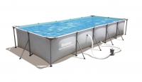 Бассейн каркасный Bestway Family Splash Frame Pool (495х211х81 см) (В комплекте: Фильтр-насос)