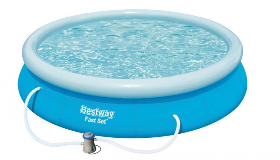Бассейн надувной круглый Bestway Fast Set (366х76 см)