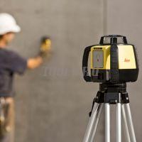 Купить комплект Leica Rugby 610 лазерный нивелир ротационный по цене производителя с поверкой