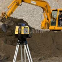 Купить комплект Leica Rugby 620 лазерный нивелир ротационный по цене производителя с поверкой